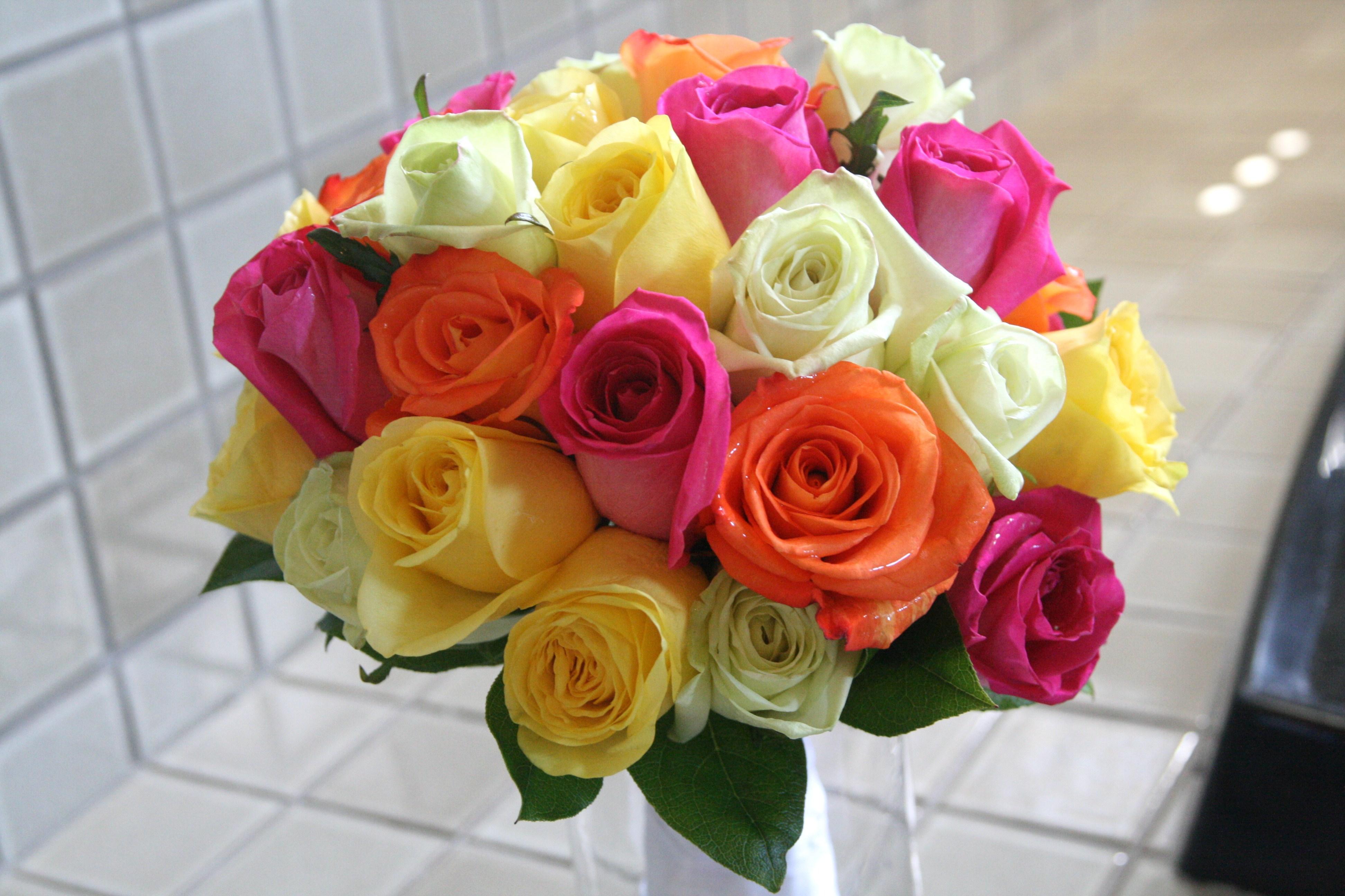 orange roses | bloomersfloraldesign